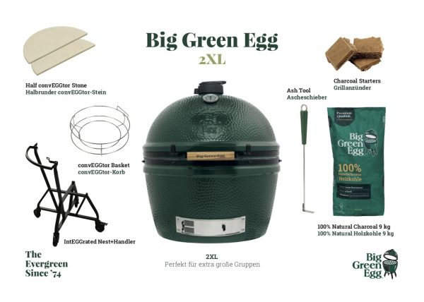 Big green Egg 2XL Starter Set