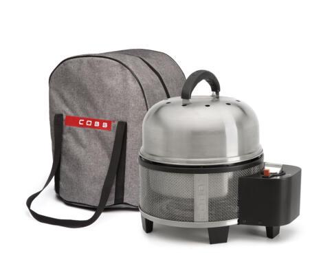 Cobb Premier Gas Tasche , grau , strapazierfähig, mit Reisverschluss