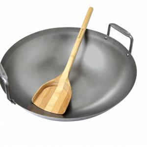 Carbon Steel Grill Wok Grill-Wok aus Kohlenstoffstahl