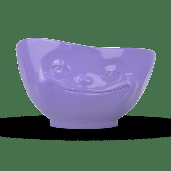 """Schale """"Grinsend"""" außen lila 500ml"""