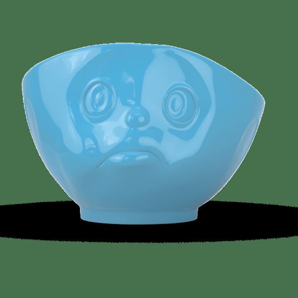 """Schale """"Schmollend"""" außen Blau weiß 500ml"""