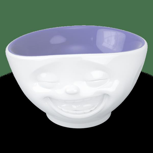 "Schale ""Lachend"" innen Lavendel 500ml"
