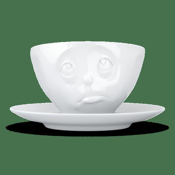 """Kaffee Tasse """"Och Bitte"""" in weiß 200ml"""