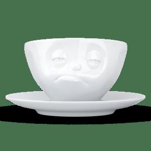 """Kaffee Tasse """"Verpennt"""" in weiß 200ml"""